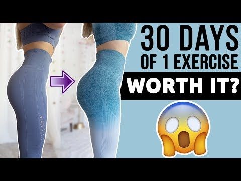 I Did 100 Bridges Everyday For 30 days | WORTH IT? BEFORE/AFTER RESULTS