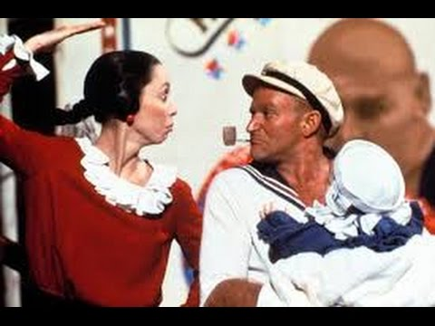 Popeye (1980) with Shelley Duvall, Ray Walston, Robin Williams movie