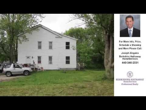 16177 Center St, Parkman, OH Presented by Joseph Zingales.