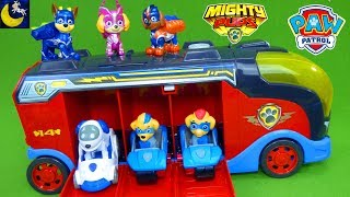 Paw Patrol Twins Mighty Cruiser Mighty Pups Super Paws Tuck Ella Paw Patroller Pup Pad Toys
