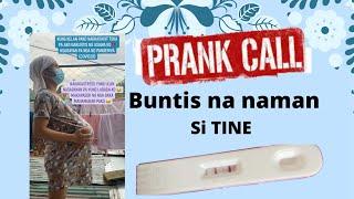 PRANK CALL buntis si TINE | ADENG & TINE TV