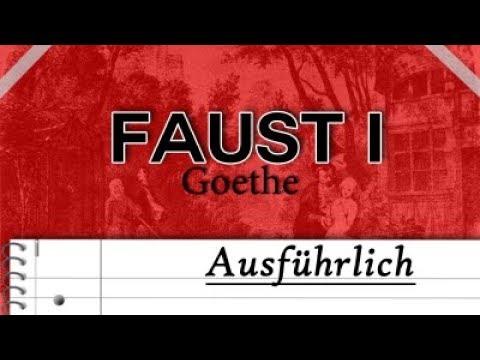 Faust Erster Teil Ausführliche Zusammenfassungerklärung Keiner