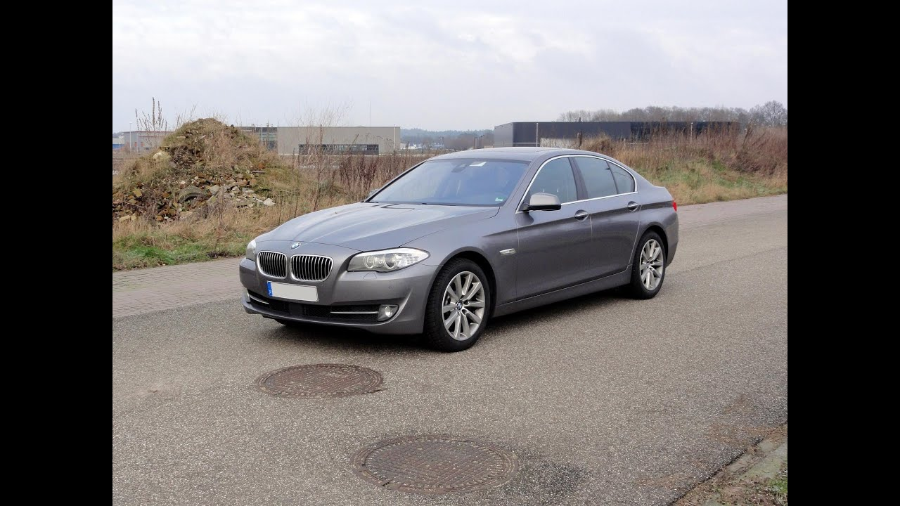2012 bmw 525d xdrive walkaround youtube