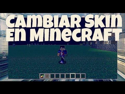 Como Cambiar Skin En Minecraft Y YouTube - Descargar skin para minecraft 1 8 8 gratis