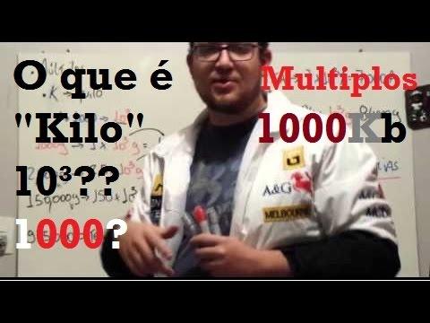 """Múltiplos e Submúltiplos - Quilo - """"Kilo"""" - Eletrônica Fácil"""