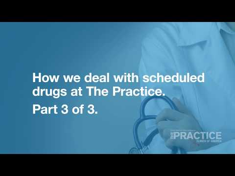 Dealing with scheduled drugs. Part 3 of 3.