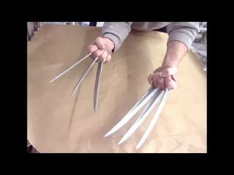 X-Men wolverine claws Prop!