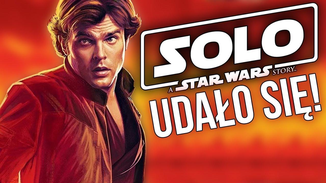 Han Solo recenzja – pogadanka o Solo: A Star Wars Story (spoilery od 6:00)