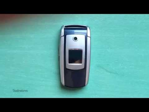 Samsung SGH-X550 review (old ringtones, games & wallpapers)