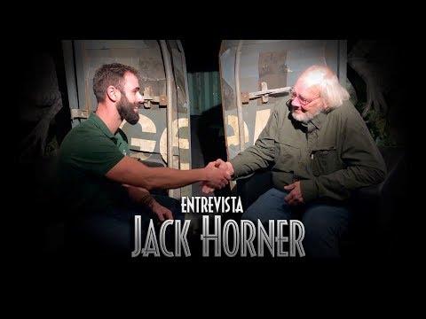 ¿Dinosaurios EMPLUMADOS en JURASSIC WORLD 3? Entrevista a Jack Horner - JW: The Exhibition