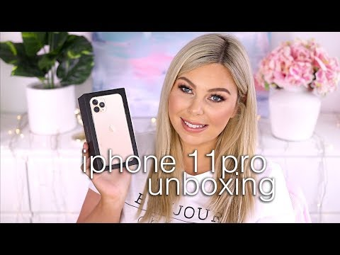 Unboxing IPhone 11 Pro Gold