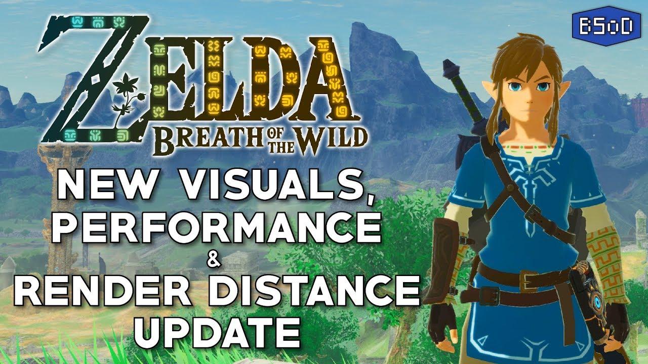 Zelda BOTW | New Light Shading, Grass Render Distance & Easy