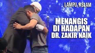 PEMUDA MURTAD Masuk Islam Kembali dan MENANGIS di Hadapan Dr. Zakir Naik MP3