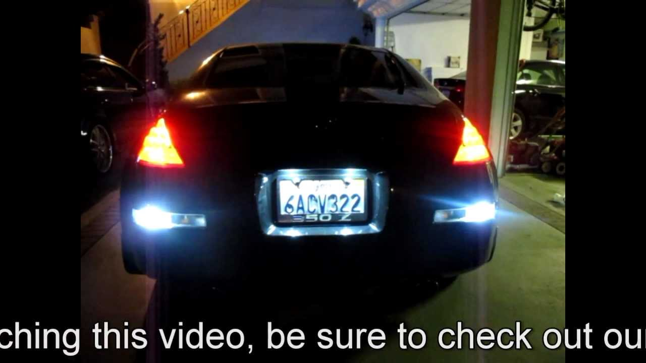 Nissan Fairlady Z >> Fairlady Nissan 350Z Fully Customized LED Interior & Exterior LED by JLC Lighting - YouTube