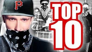 Le top 10 des rituels d'entrée dans un gang