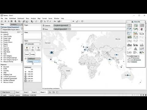 Geographical regions in Tableau