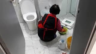 마산이사청소업체 화장실…