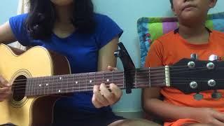 Sống chung với mẹ vợ ( Guitar cover by Trang Hoàng ft Minh Quang)
