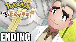 Pokemon Let's go Pikachu / Eevee ENDING Pokemon Leauge -- Gameplay Walkthrough Part 13