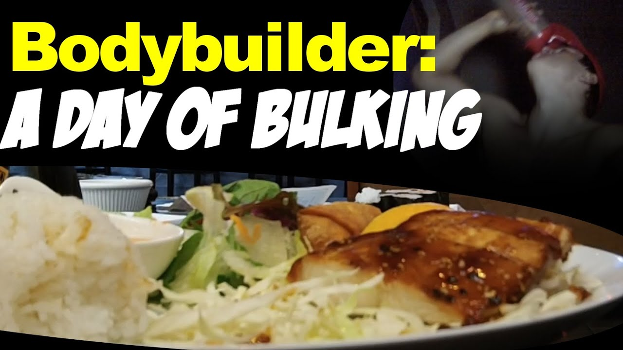 Whole bulking day of a bodybuilder 5000 calories youtube for Cuisine 5000