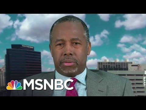 Ben Carson: Let's Put Second Amendment On The Table   Andrea Mitchell   MSNBC
