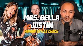 HipHop Shirts von JUSTIN & MRS BELLA