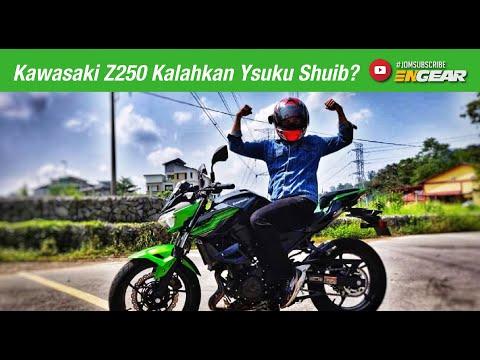 Rasanya Kawasaki Z250 Boleh Kalahkan Ysuku Shuib Tak? - Engear Review #Ep41