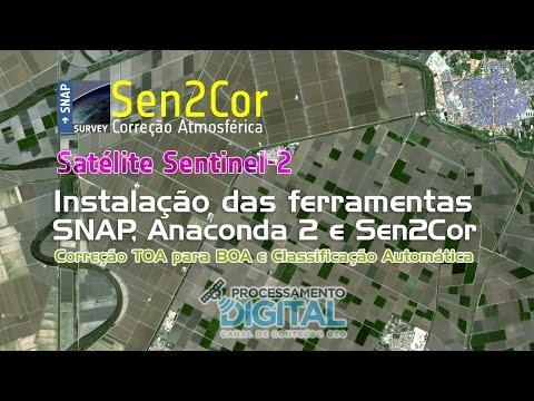 Instalação do SNAP + Anaconda + Sen2Cor para Correção Atmosférica de Imagens Sentinel-2