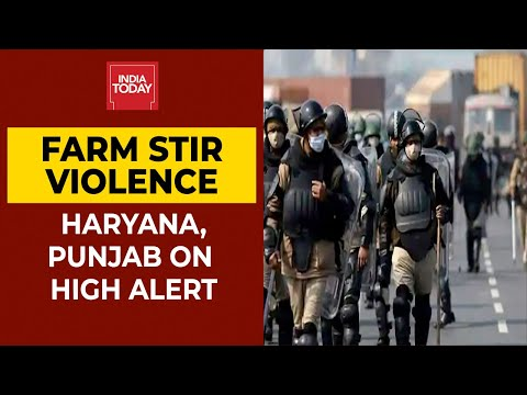 15 Companies Of Additional Troops Deployed In Delhi; Haryana & Punjab On High Alert| Farmers Protest thumbnail