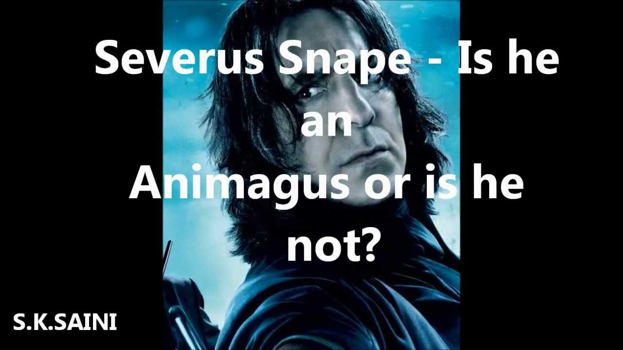 severus snape the spider animagus theory youtube