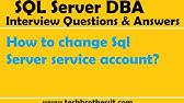 SQL Server 2012 Tutorial - Change SQL Server Service Start