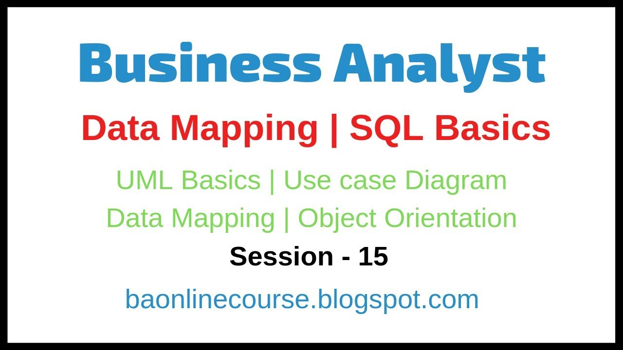 Data Mapping Tutorial on
