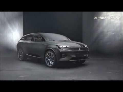 Byton Concept CES 2018 Premiere: Elektro-SUV aus China