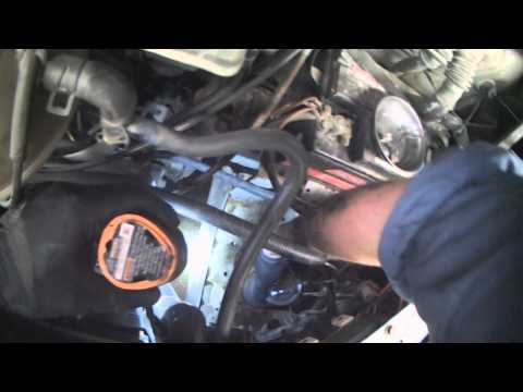 VW T4: 2.4L Diesel fuel filter replacement