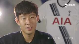 Heung Min Son First Tottenham Hotspur Interview
