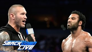 Randy Orton confronts Jinder Mahal and addresses Bray Wyatt: SmackDown LIVE, April 18, 2017