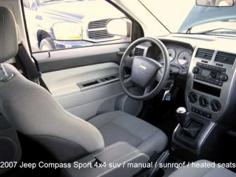 2007 Jeep Compass Sport 4x4 Suv Youtube