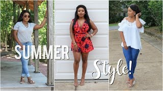 My Summer Style: 3 Cute Outfits + GIVEAWAY!
