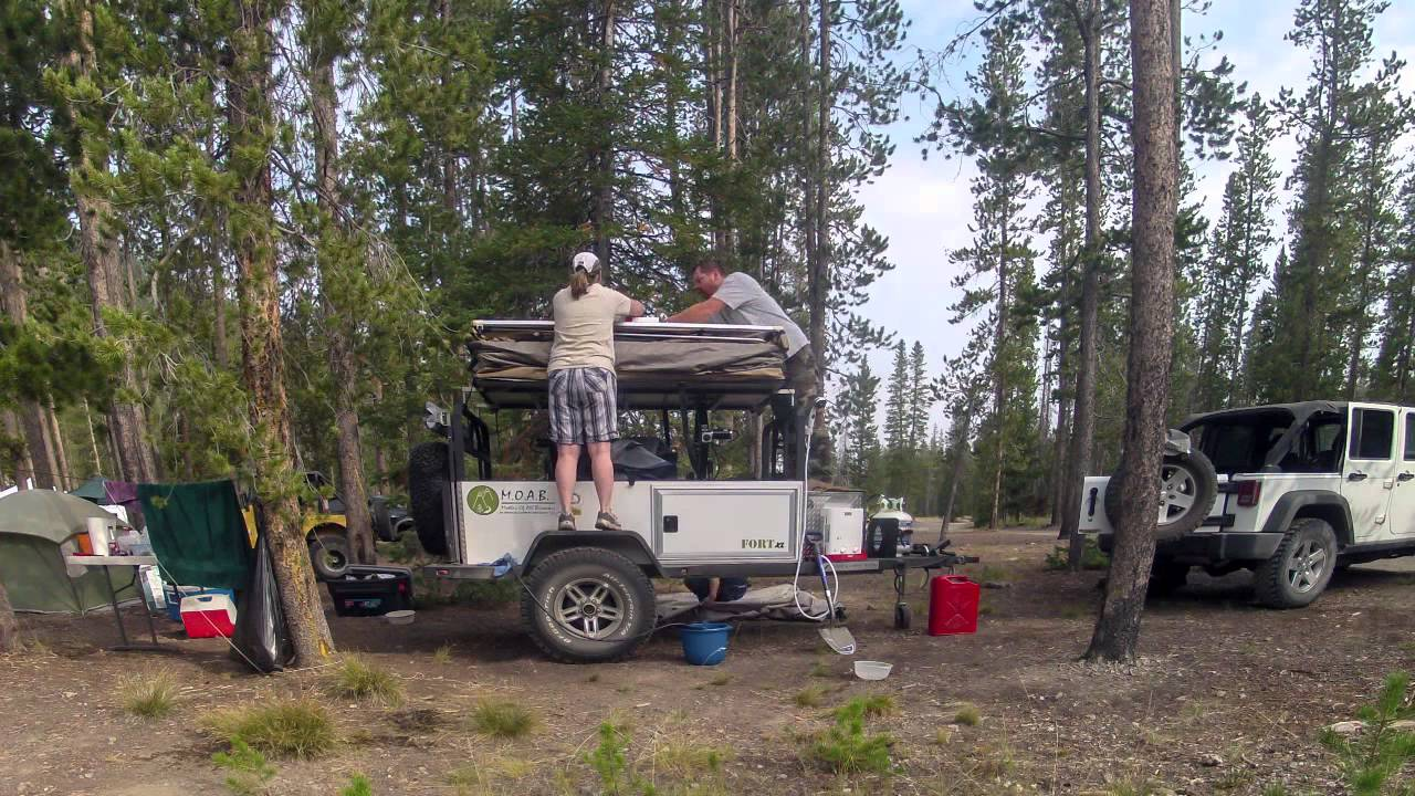 Cool Review Bivouac Camping Trailers MOAB Overland Trailer OffRoad