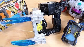 ゲイツリバイブ専用武器!DXジカンジャックロー『ノコギリ』と『爪』に2モード変形!ゲイツリバイブライドウォッチで超必殺技発動!