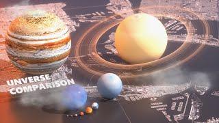 Universe Size Comparison 2018 thumbnail