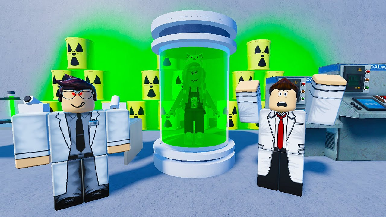 Stay Out Of The Laboratory! Experiment Gone Wrong On Roblox