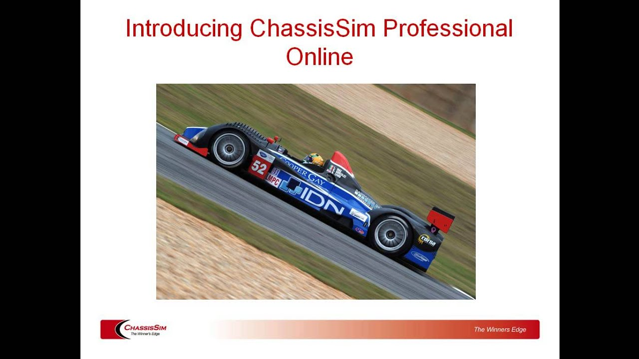 Online Sim - ChassisSim