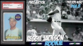 1969 Reggie Jackson rookie cards Topps #260 for sale; graded PSA