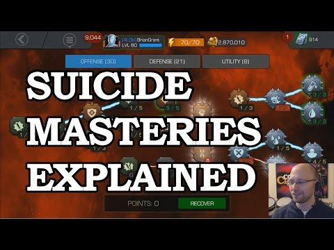 What are Suicide Masteries? | Marvel Contest of Champions