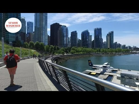 Vancouver street walk, Ep2- Coal Harbour seawall