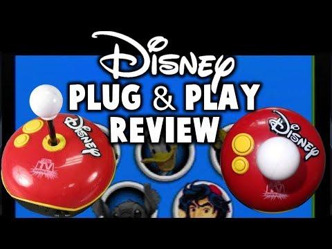 Disney Plug N Play Review - Jakks Pacific TV Games
