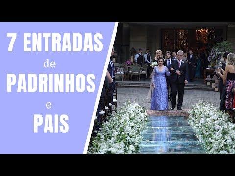 7 MAGNÍFICAS ENTRADAS de PADRINHOS de CASAMENTO