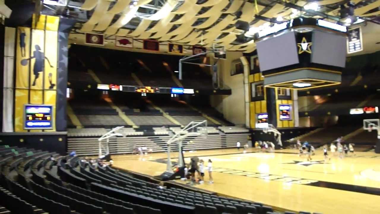 Vanderbilt Basketballl Arena Youtube