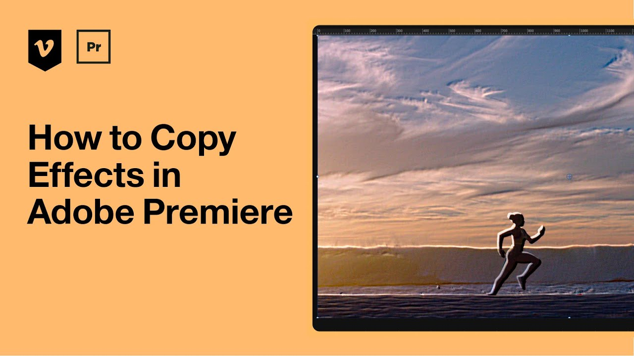 How to copy effects in Adobe Premiere